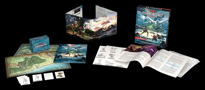 D&D Is Releasing the ESSENTIALS KIT Which Sounds Perfect for Potential New Players