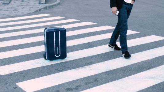 Travelmate Suitcase Follows You Like a Robot Puppy