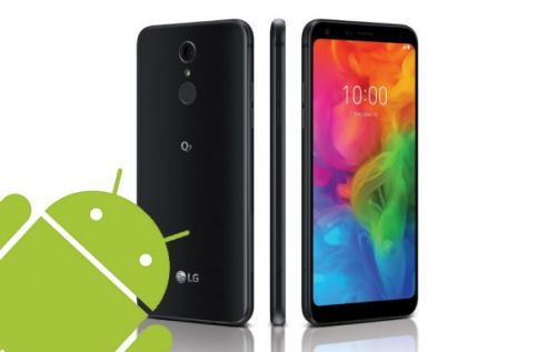 LG Q7 Android One for T-Mobile sighted