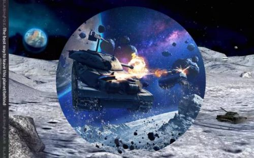 World of Tanks 'Gravity Force' lets you battle tanks on the moon