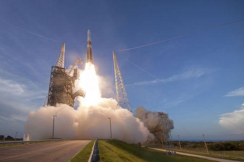 Watch as ULA launches the final flight of its Delta IV Medium rocket