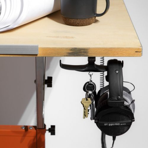 Declutter with this upgraded version of The Anchor headphone mount