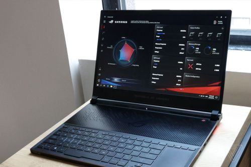 Asus' new Zephyrus S gaming laptop is its thinnest yet, but the trackpad is still in the wrong place
