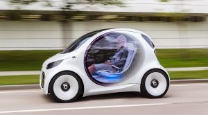 Smart Envisions EQ Fortwo Concept as Ride-Sharing, Self-Driving EV