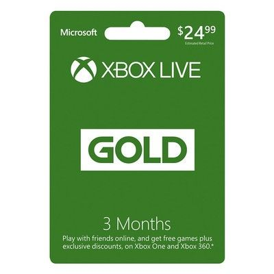 Keep your online win streak alive with three months of Xbox Live for $15