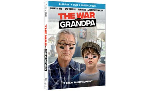 'The War With Grandpa' Blu-ray, DVD and Digital Arrive in Time for Christmas
