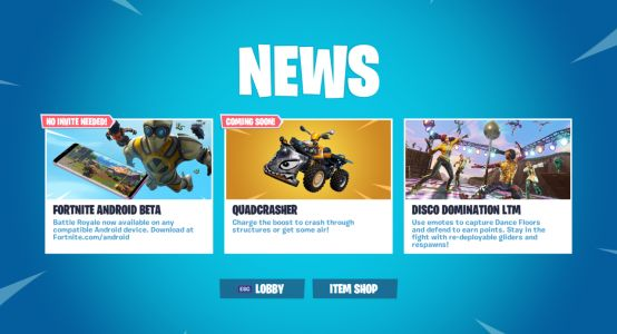 Fortnite's New Quadcrasher Vehicle Has Arrived