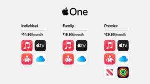 Apple unveils 'Apple One' subscription bundles with Music, TV+ and more