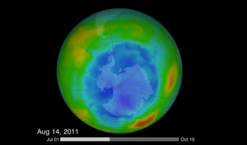 Thanks to mankind's best efforts, Mother Nature is repairing the ozone layer we destroyed