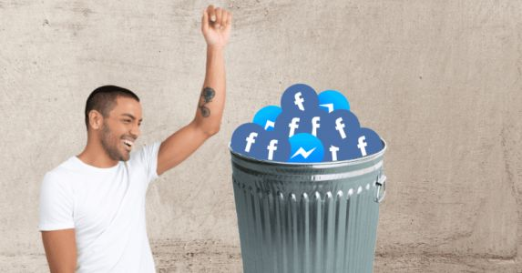 Here's how to delete or deactivate your Facebook account