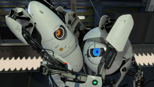 Celebrate ten years of Portal 2 with these behind the scenes photos
