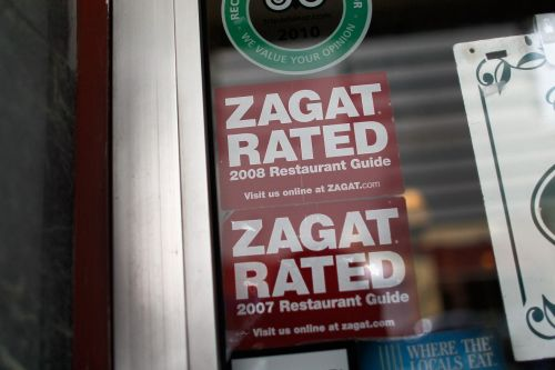Google is considering selling off Zagat