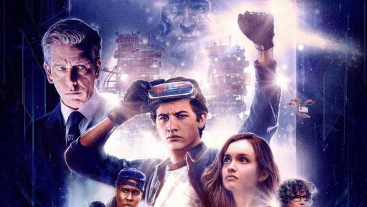 Ready Player One gets suitably retro movie poster
