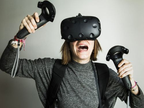 The HTC Vive virtual reality system is down to $499 for the first time