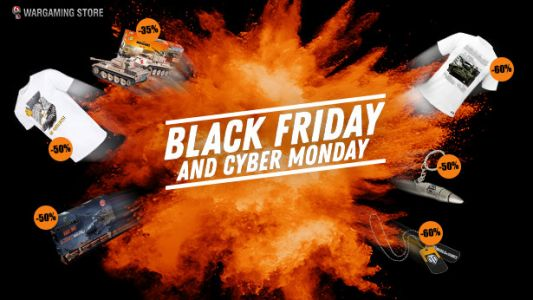 Wargaming Store: Epic Black Friday to Cyber Monday Deals!