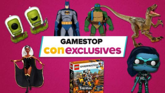 GameStop Announces SDCC 2019-Exclusive Collectibles, Funko Pops Available To Order Online Now