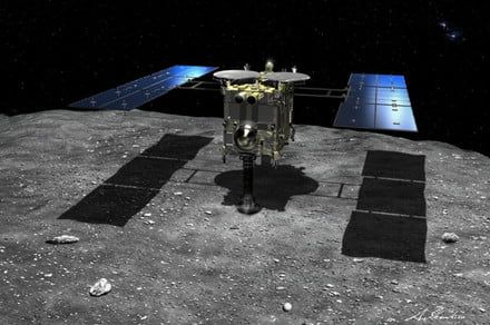 Touchdown! Japan successfully lands its Hayabusa2 spacecraft on asteroid Ryugu