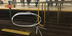 TTC Twitter support helps woman get AirPods from Toronto subway tracks