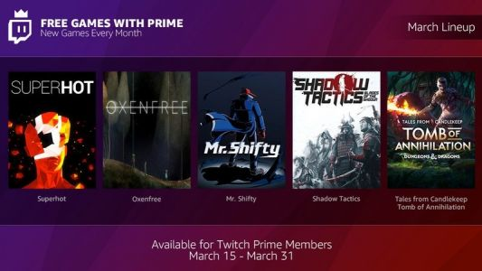 Download new games for free every month through Twitch Prime's newest service