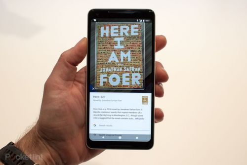 Google starts rolling out Google Lens to Pixel devices