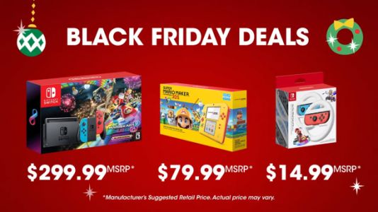 Nintendo's Black Friday 2018 deals include Switch and 2DS bundles