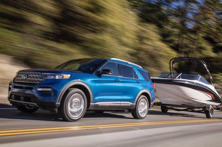 The 2020 Ford Explorer fights flat tires with self-sealing tech from Michelin