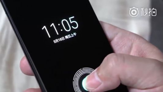 Xiaomi tipped to be bringing in-screen fingerprint sensors to its phones