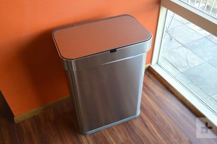 Simplehuman Voice-Activated Sensor Trash Can review