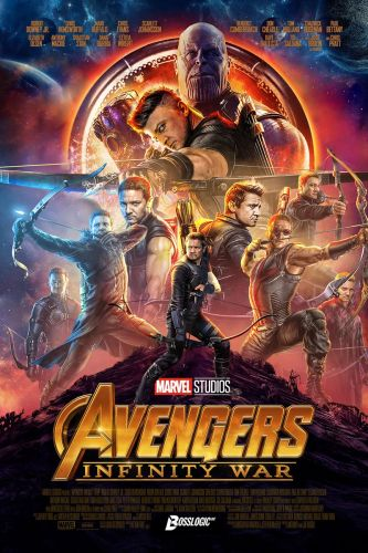 These Fan-Made AVENGERS: INFINITY WAR Posters Make Up For the Lack of Hawkeye in the Film's Marketing