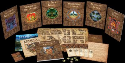 Fantasy Flight Games Announces Legacy of Dragonholt Board Game