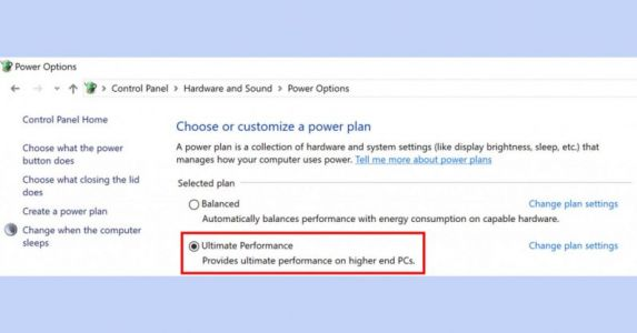 Windows 10's new 'Ultimate Performance' mode sacrifices efficiency for raw power