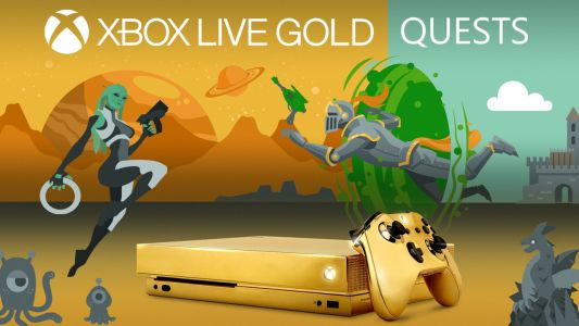 Microsoft Is Giving Away a Gold-Plated Xbox One X