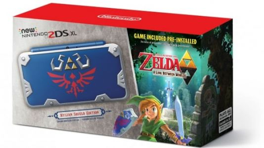 Nintendo 2DS XL getting a Zelda-inspired makeover