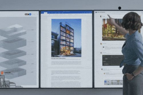 Microsoft alters Surface Hub 2 hardware, delays new software features to 2020
