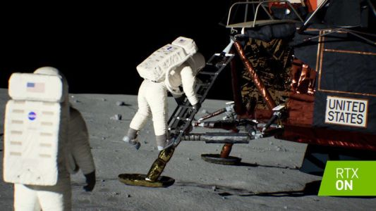 NVIDIA recreates lunar landing with ray tracing to celebrate Apollo 11