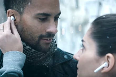 Do AirPods kill intimacy? No way, says Apple's holiday ad
