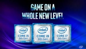 Intel promises 9th-gen mobile Core processors will arrive 'very, very soon'