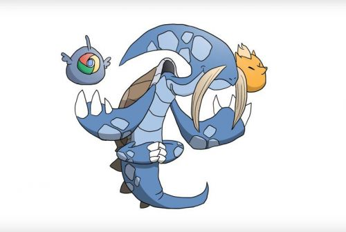 Here's what popular web browsers would look like as Pokémon