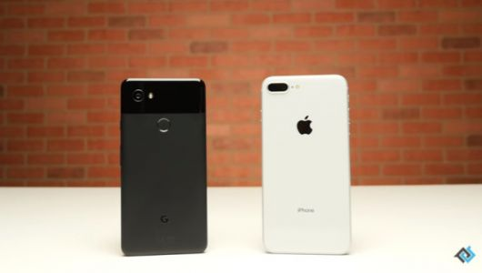 Google Pixel 2 XL goes up against an iPhone 8 Plus in new drop test video