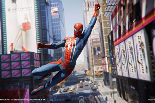 Spider-Man on PS4 nails the most important thing: web-swinging