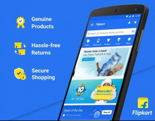 Flipkart for Android updated with long list of features