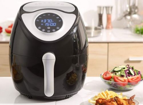 This huge 5.8QT air fryer has a 5-star rating and a $100 price tag, but it's on sale today for $60