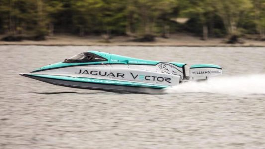Jaguar sets new maritime speed record with electric boat