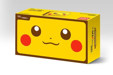 Grab the new Pikachu 2DS XL and score a free game and Poké Ball power bank