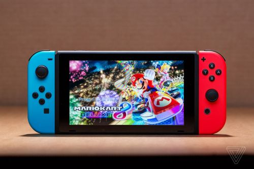Nintendo's Switch with better battery life includes Mario Kart 8 Deluxe for Black Friday