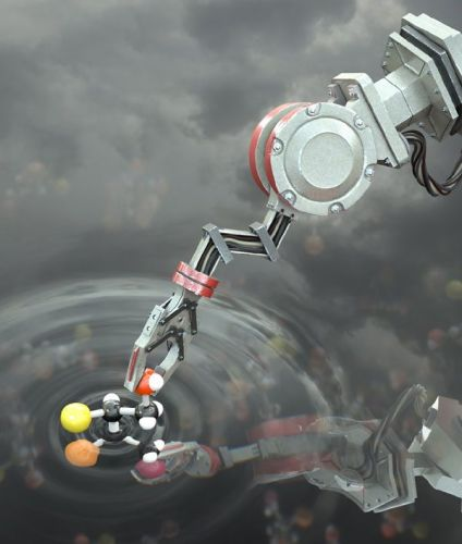 World's first minuscule molecule-building robot paves way for molecular factories
