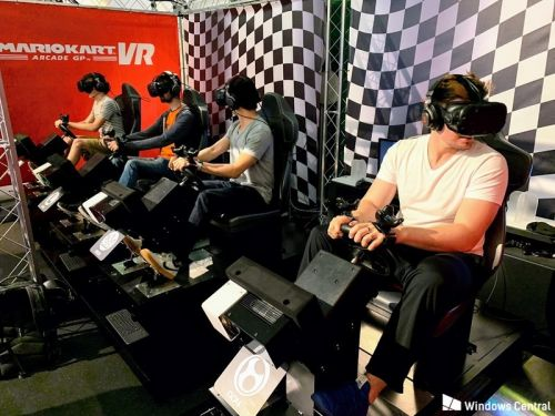 Mario Kart VR has landed in Washington, D.C. - and it is amazing