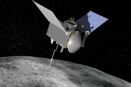 A NASA spacecraft is about to slingshot around Earth to meet up with an asteroid
