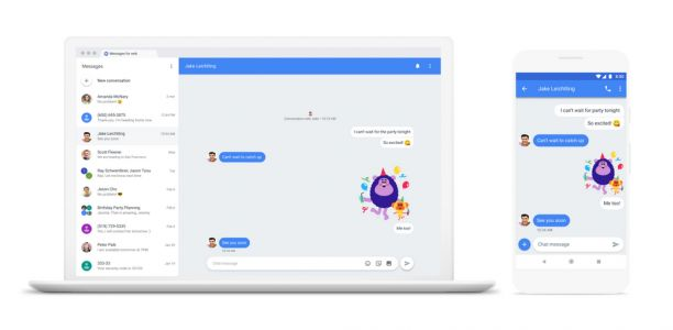 Android Messages hits the web for browser-based texting