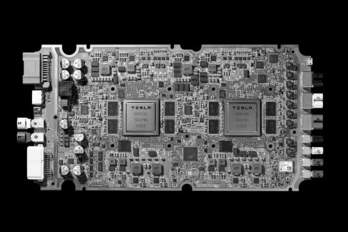 Tesla's new self-driving chip is here, and this is your best look yet